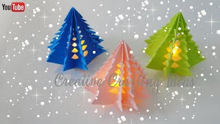 Download Christmas Tree With Paper | 3D Paper Christmas Tree | DIY Christmas Tree Video