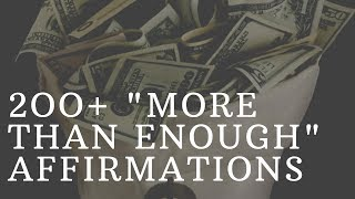 Download ″More Than Enough″ Prosperity Affirmations! (Listen to this for 21 Days!) 432Hz Video