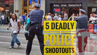 Download Top 5 Crazy Police Shootouts Video