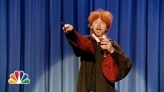 Download Drunk Ron Weasley Sings Happy Birthday To Harry Potter (Late Night with Jimmy Fallon) Video