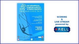 Download [LIVE] XXV Ogólnopolska Olimpiada Młodzieży w gimnastyce artystycznej 24-26.05.2019 WIELICZKA Video