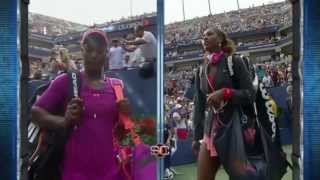 Download Serena Williams *Humbles* Sloane Stephens @ US Open 2013 Video