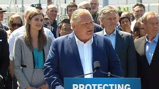 Download Doug Ford on pot sales, cancelling green programs Video