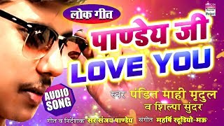 Download Pandey Ji Love You | Pandit Mahi Mridul & Shilpa Sundar | Bhojprui New Song 2019 | AUDIO Video