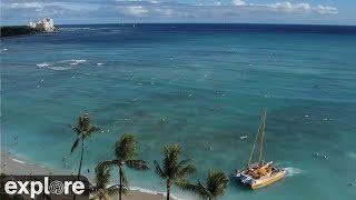 Download Waikiki Beach Meditation powered by EXPLORE.org Video