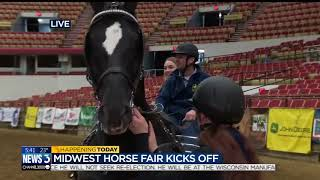 Download Horse Fair kicks off, offers rodeo, driving derby in 2018 Video