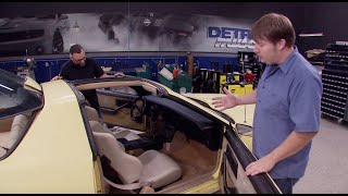 Download 1986 Chevrolet Camaro Iroc Z Build Part 2: Interior - Detroit Muscle S3, E2 Video