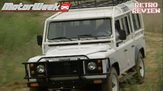 Download 1992 Land Rover Defender 110 | Retro Review Video