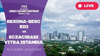 Download Rexona-Sesc Rio v Eczacibasi VitrA Istanbul - Women's Club World Championship Video