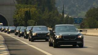 Download 200 BMW 7 for the Wedding of HSH Prince Albert II of Monaco [HD] Video