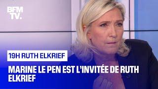 Download Marine Le Pen face à Ruth Elkrief Video