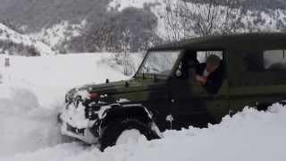 Download Mercedes-benz G class wolf G240 Georgia snow mud off road Video