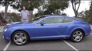 Download A Used Bentley Continental GT Is a Crazy $50,000 Used Car Video