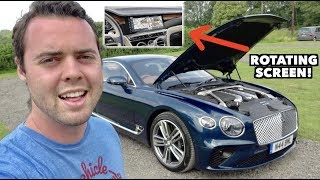 Download AMAZING FEATURES OF THE $225,000 '19 BENTLEY CONTINENTAL GT! Video