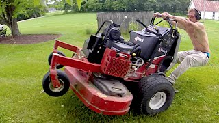 Download Lawn Mower Wheelies, Reckless Driving And More! Video