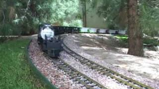 Download World's Longest G Scale Train with (1) locomotive! Video