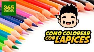 Download COMO COLOREAR CON LAPICES DE COLORES - tips para pintar con colores de madera Video