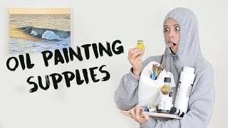 Download Beginners Oil Painting | Supplies Video