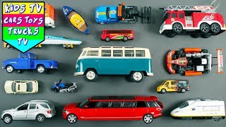 Download Learn Street Vehicles | Car Cartoons | Emergency Vehicle Names For Kids | Police Car Cartoons Video