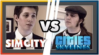 Download SimCity VS Skylines Video