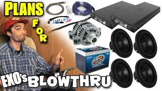 Download Choosing The BEST Car Audio Setup For YOU! Planning For a LOUD Bass System w/ EXOs NVX TRUCK Build Video