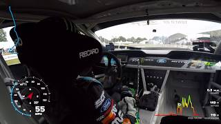 Download Vaughn Gittin Jr. Drifts Goodwood | In-Car Video With Telemetry Video
