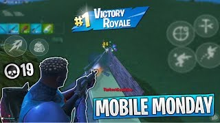 Download Dropping 19 Kills in my First Fortnite Mobile Tournament! (Mobile Monday Fortnite Tournament) Video