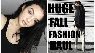 Download HUGE FALL FASHION HAUL! | Lulus, Brandy melville, EGO shoes Video