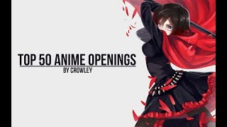 Download My Top 50 Anime Openings Video
