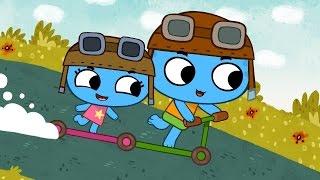 Download Мультфильмы для Малышей - Котики, вперед! - Большие гонки (Серия 5) Video