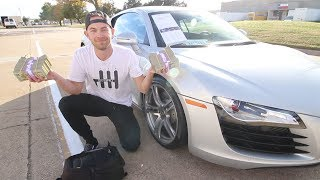 Download Buying this Audi R8 in CASH and THEN.... Video
