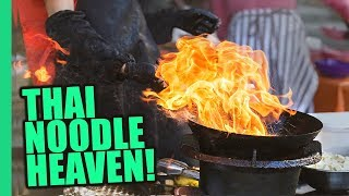 Download Bangkok's Impossible Pad Thai Noodles! Thai STREET FOOD Magic on Bangkok's Michelin Food Street! Video