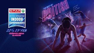 Download SPAR British Athletics Indoor Championships Day 1 Video