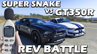 Download GT350R VS GT500 Super Snake Video