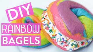 Download DIY RAINBOW BAGELS Video