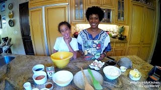 Download How to make Stout Gingerbread with Judah & Karen Marley | Ziggy Marley & Family Cookbook Video
