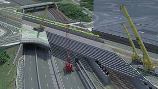 Download Summer 2018 Work for the Commonwealth Avenue Bridge Project Video