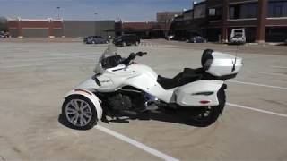 Download 001319 2017 Can Am Spyder F3 Limited SE6 - Used motorcycles for sale Video