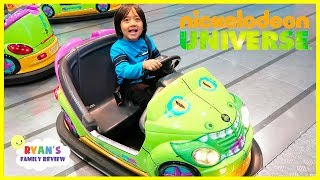 Download Nickelodeon Universe Theme Park Indoor Amusement Rides for Kids Video