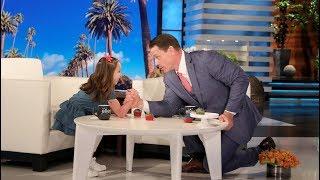 Download WWE Star John Cena Arm Wrestles Kid Genius Brielle Video