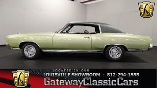 Download 1971 Chevrolet Monte Carlo - Louisville Showroom - Stock # 1416 Video