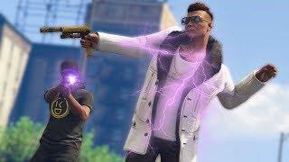 Download I GOT THE STUN GUN ONLINE! *STUN GUN TROLLING!* | GTA 5 THUG LIFE #133 Video