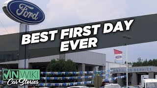 Download The best first day EVER selling cars Video