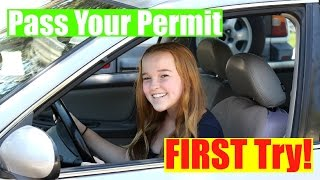 Download How to Pass Your Permit Test FIRST Try! Video