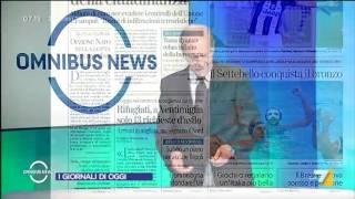 Download Omnibus News (Puntata 21/08/2016) Video