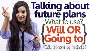 Download 'Will' or 'Going to' - Talking about Future plans - (English Grammar Lesson) Video