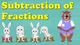 Download Subtraction of Fractions for Kids | #aumsum Video