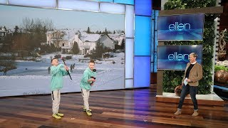 Download Ellen Discovers Some Insane Hidden Talent in Her Audience Video