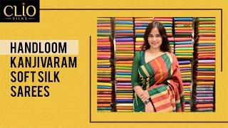 Download Handloom Kanjivaram Soft Silk Sarees Video