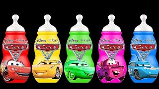Download Disney Cars 3 Baby Bottles Finger Family Song Colors Learn Video